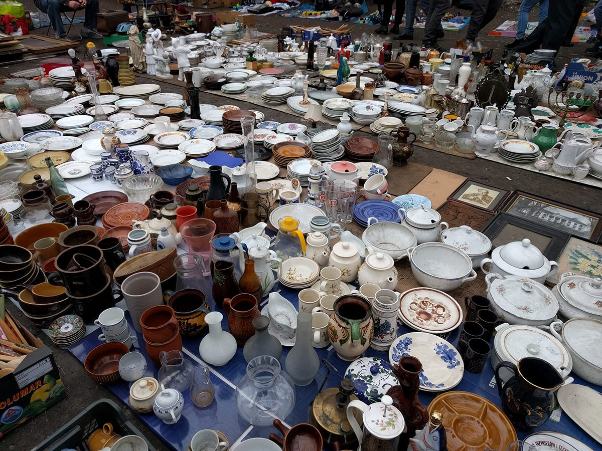 Targi staroci – dla jednych śmieci, dla innych skarby