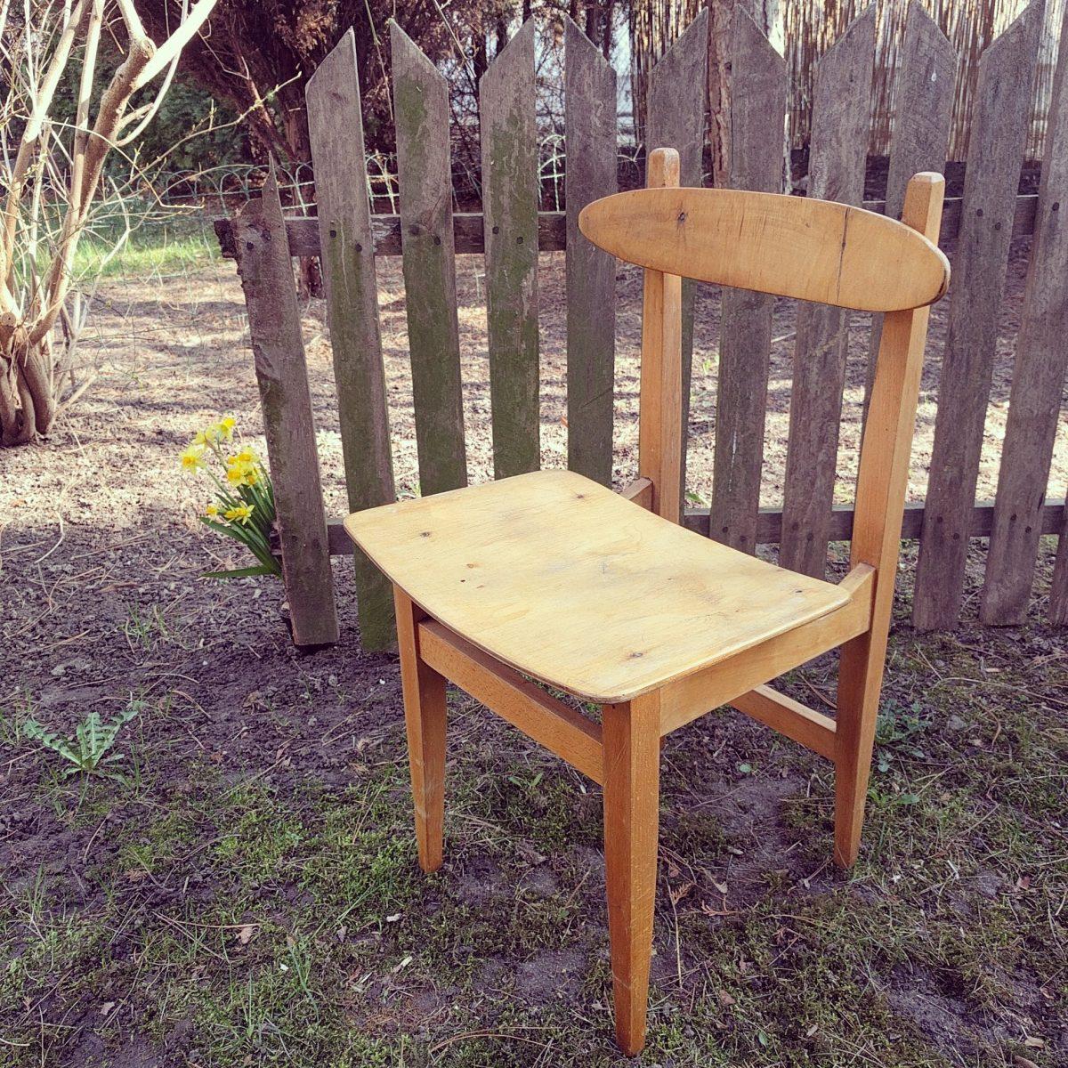 Niepozorne krzesełko