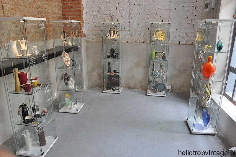 Wystawa ceramiki i szkła z lat 50. – 70.