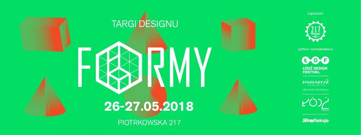 FORMY – Targi Designu podczas Łódź Design Festival 2018