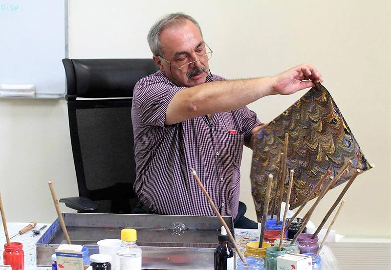Warsztaty: turecka sztuka Ebru