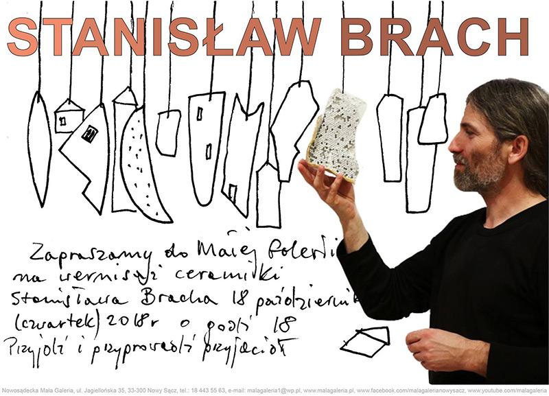 Wystawa ceramiki Stanisława Bracha