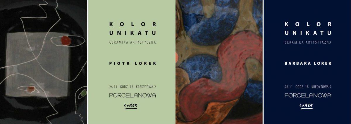 Wystawa: Kolor Unikatu – Studio Lorek