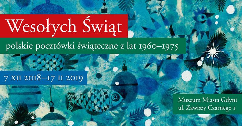 Wystawa pocztówek świątecznych w Gdyni