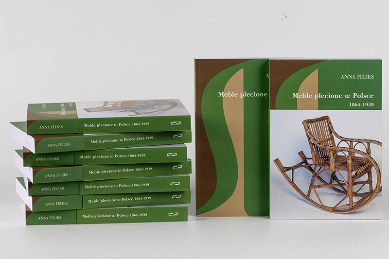 Prezentacja książki o meblach plecionych