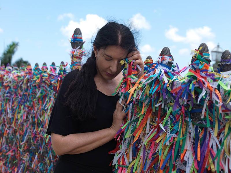 Pokaz filmu o Marinie Abramović w Brazylii
