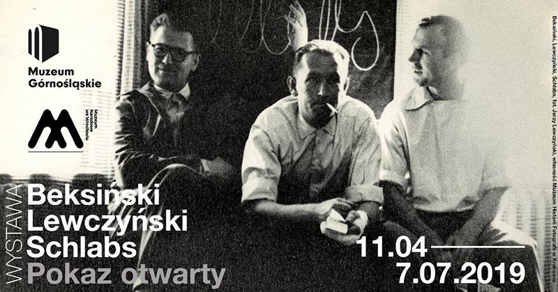 Wystawa: Beksiński. Lewczyński. Schlabs. Pokaz otwarty