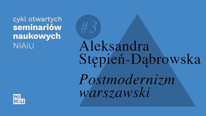 Spotkanie: warszawska architektura lat 90.