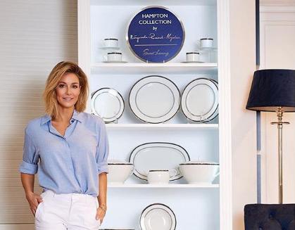 Małgorzata Rozenek-Majdan z własną kolekcją porcelany