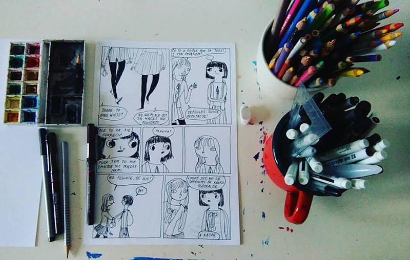 Warsztat tworzenia komiksów