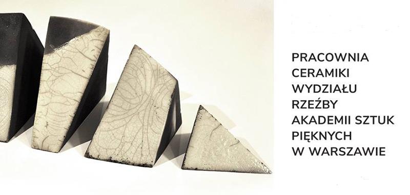 """""""Przestrzeń geometrii"""" – wystawa ceramiki"""