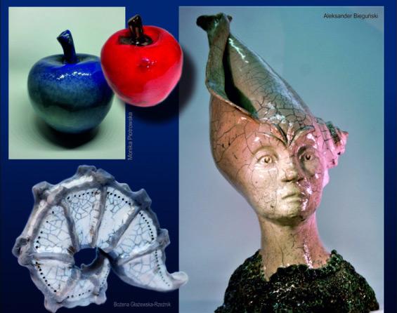 """Wystawa ceramiki """"Z natury"""""""