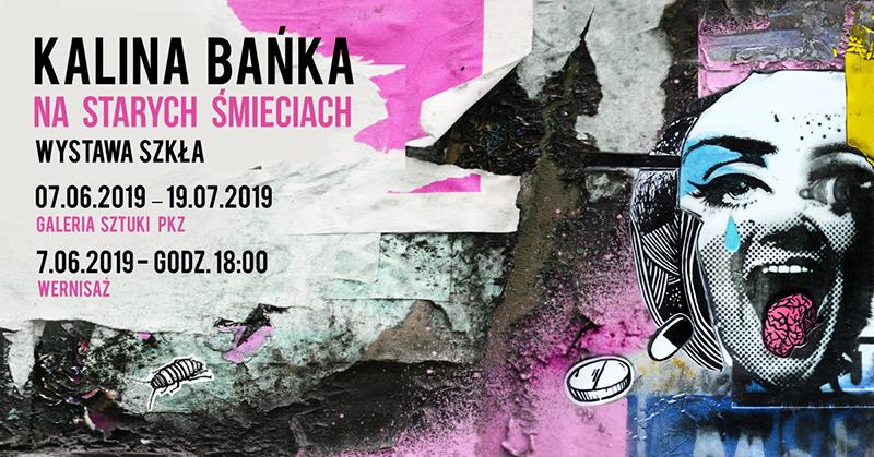 Wystawa szkła Kaliny Bańki