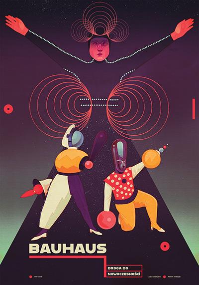 ŁDF: wystawa plakatów o Bauhausie