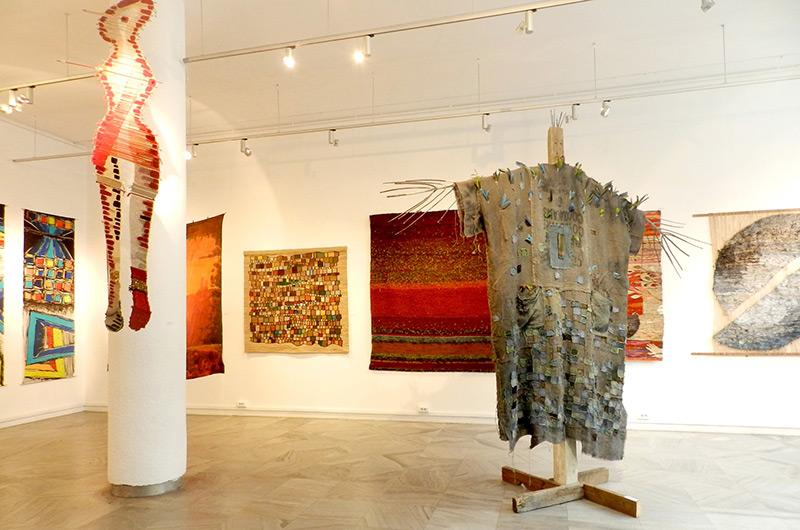Spotkanie z artystami – Sztuka Włókna 2019