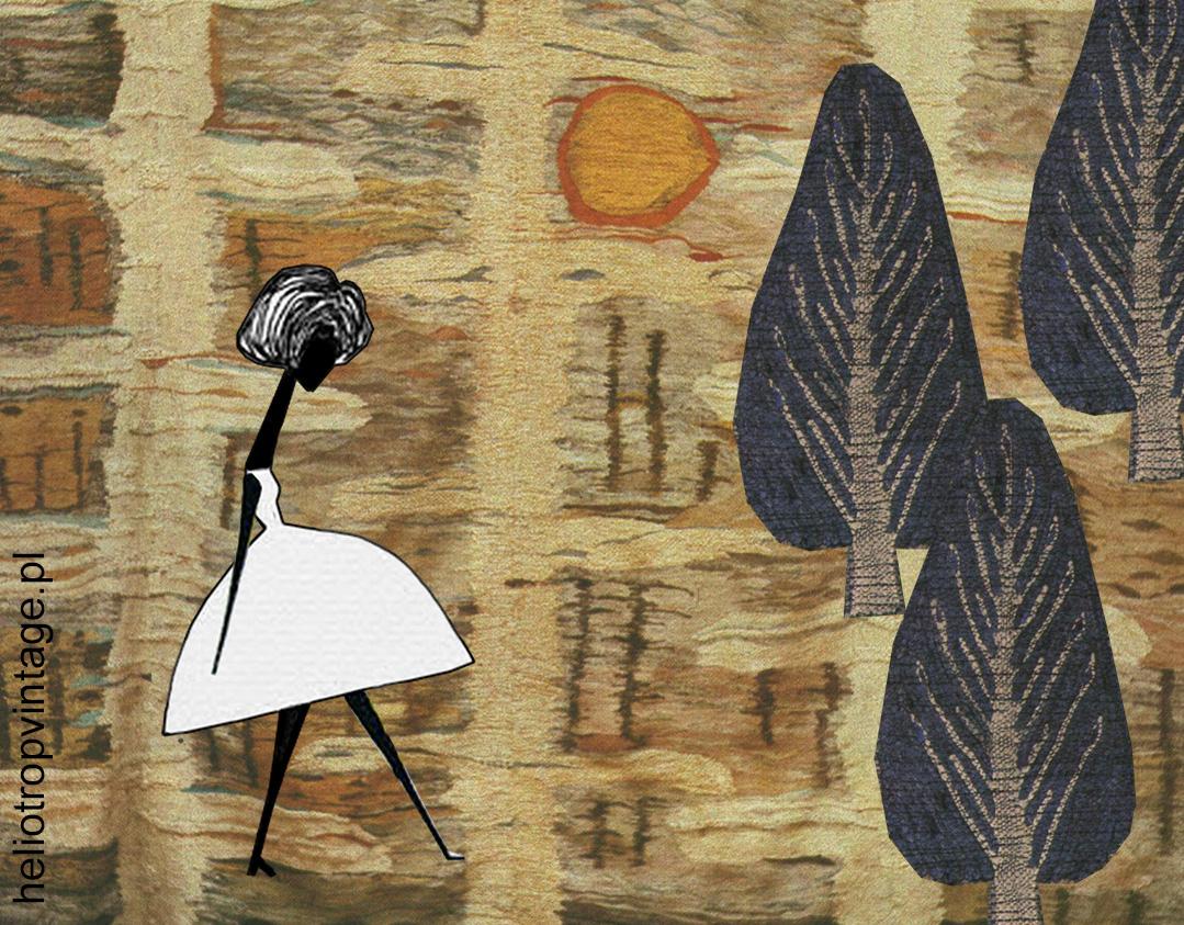 Kilimy, żakardy, filmdruki – o tkaninach przez dekady