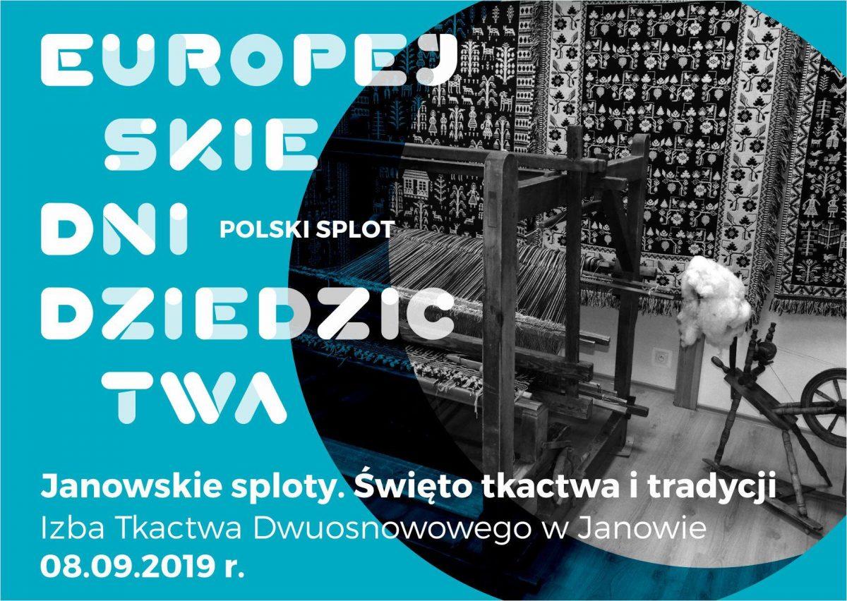 Janowskie Sploty – Święto Tkactwa i Tradycji