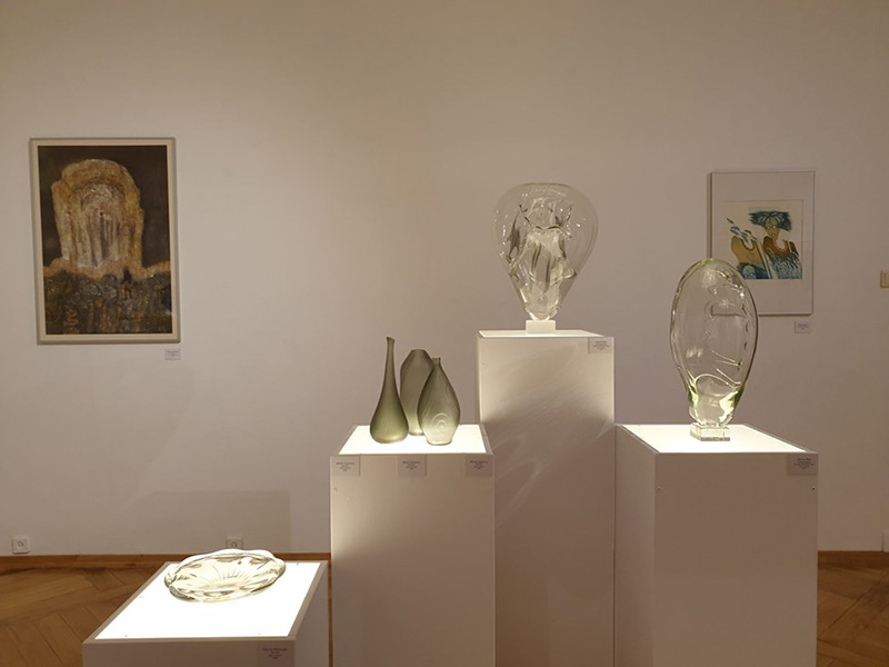 Wystawa szkła artystycznego w Wałbrzychu