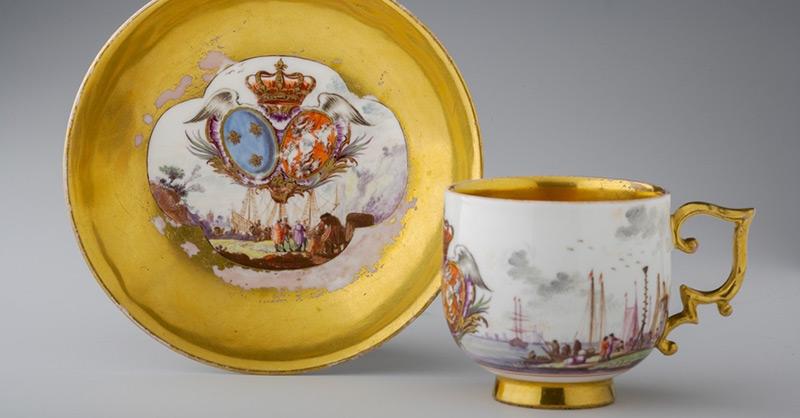 Porcelana miśnieńska w zbiorach Zamku Królewskiego na Wawelu