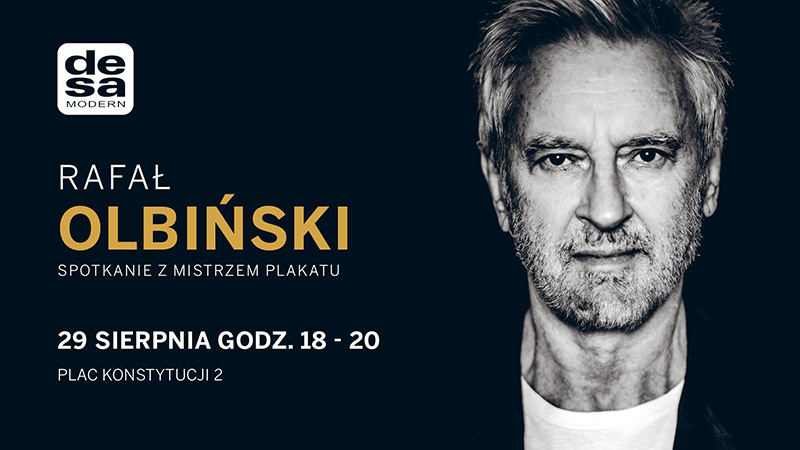 Spotkanie z Rafałem Olbińskim