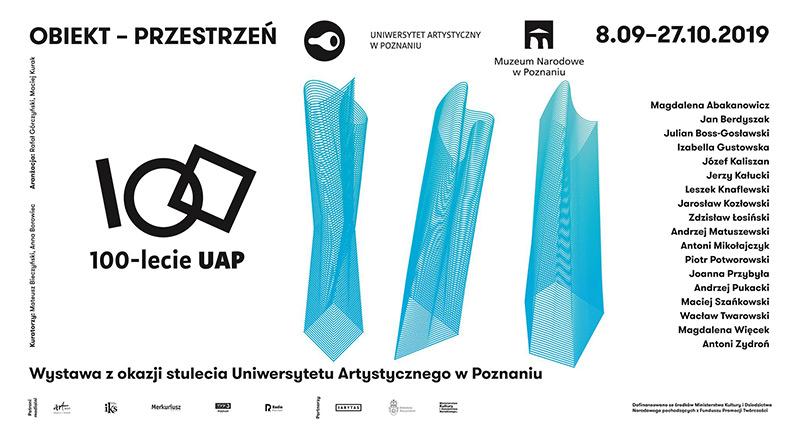 Obiekt – Przestrzeń – wystawa z okazji 100-lecia UAP