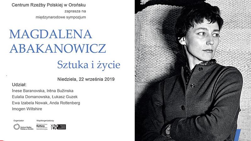 Magdalena Abakanowicz. Sztuka i życie – Międzynarodowe Sympozjum