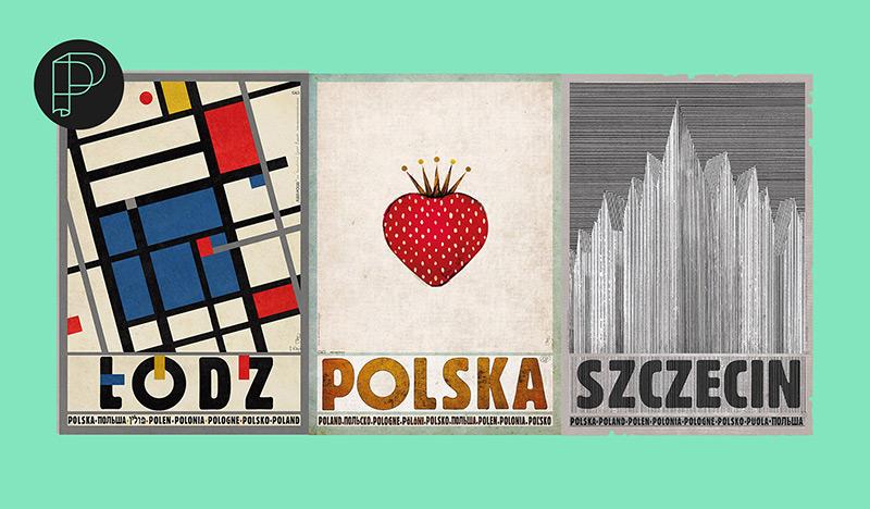 POLSKA – plakaty Ryszarda Kai na TRŁ Print