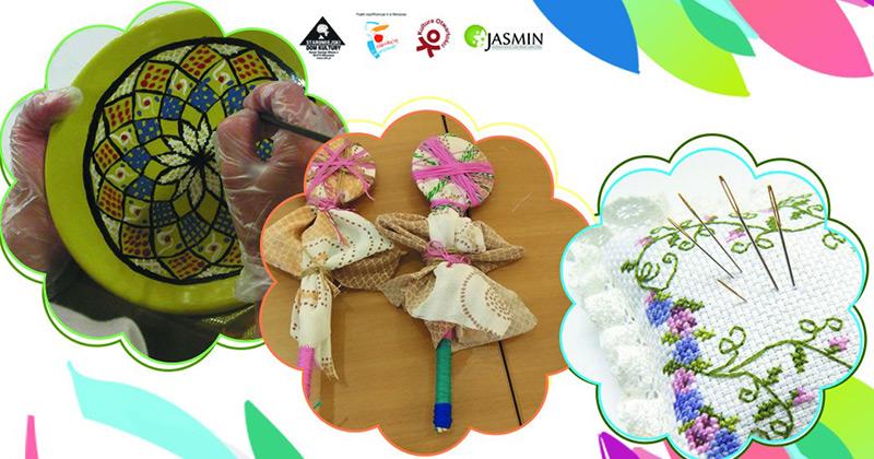 Ukraina włóczką haftowana – warsztat międzykulturowy