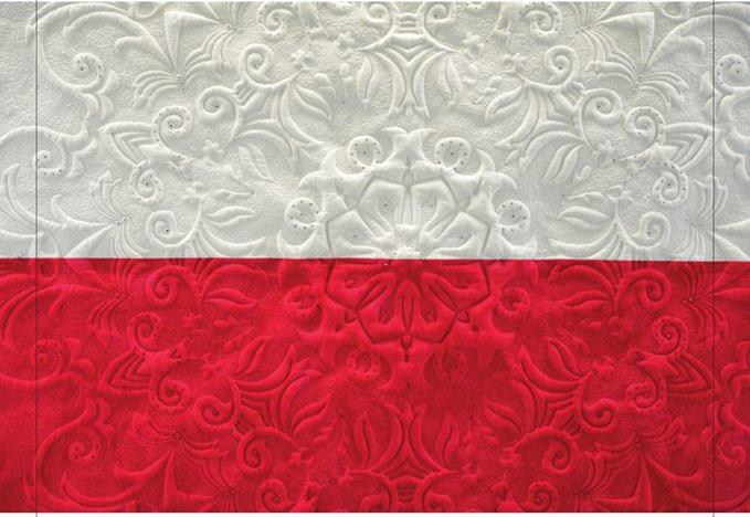 Wystawa: Biało-czerwone patchworki
