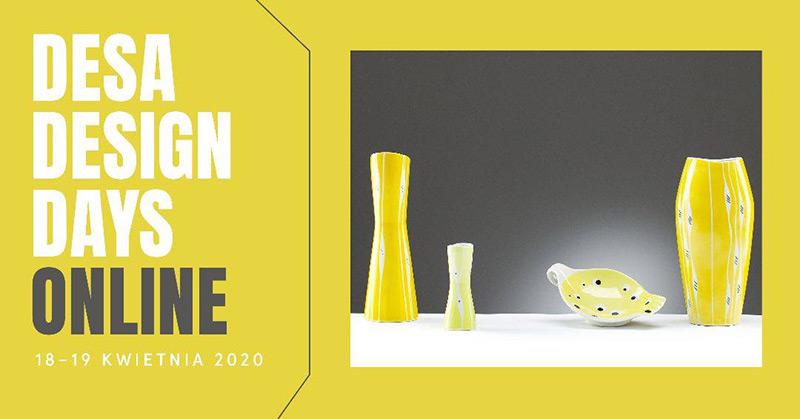 Desa Design Days Online i dwie aukcje designu