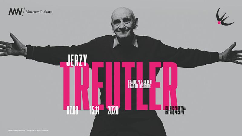 Wystawa: Jerzy Treutler. Grafik projektant. Retrospektywa